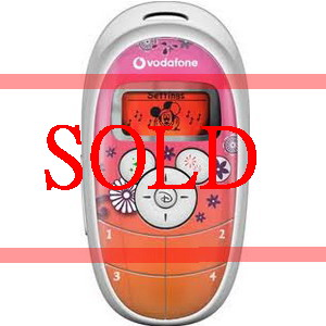 Vadafone x Disney D100 Mini Phone for kids, brand new & boxed