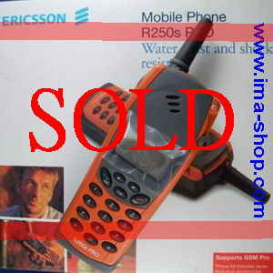 Boxed Orange Ericsson R250s PRO Genuine, Original & Brand New