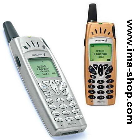 Ericsson R520 R520m Classic Mobile Phone, brand new & boxed (2 color options)