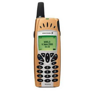 Gold Ericsson R520 R520m Classic Mobile Phone - Refurbished