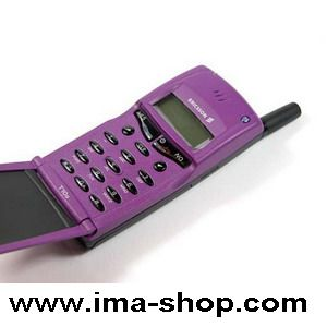 Ericsson T10 T10s Classic Flip Mobile Phone. Genuine, Brand New & Boxed : Funky Purple