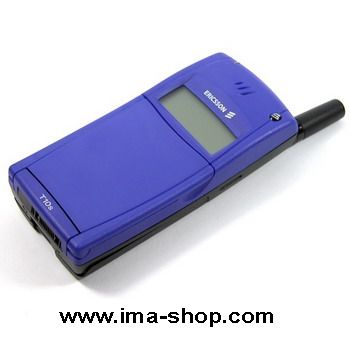 Ericsson T10 T10s Classic Flip Mobile Phone. Genuine, Brand New & Boxed : Blue
