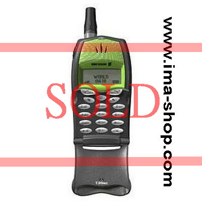 Ericsson T20s Classic Flip-phone: Lime Twist color - Brand new, Original & Boxed