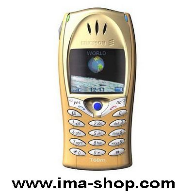 Gold Color Ericsson T68m (not T68i) First color display phone from Ericsson - Brand New & Original