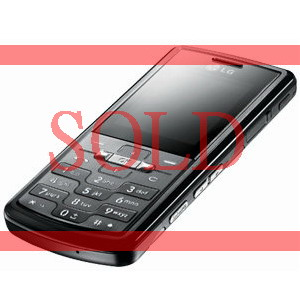 Black LG KE770 Shine, Triband Music Camera Phone - Refurbished