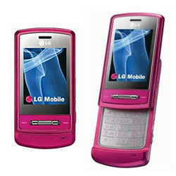 Pink LG KE970 Shine, Triband - Refurbished