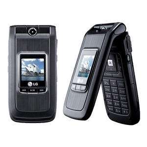 Black LG U8500 / U880,  3G + Triband Music Phone - Refurbished