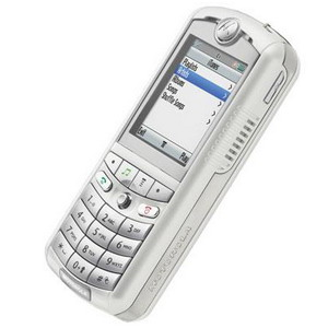 White Motorola ROKR E1, iTune Music Edition - Refurbished