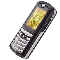 Black Motorola E398, Triband, Music, Camera Phone - Refurbished