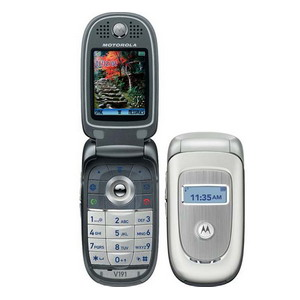 Motorola V191, Quadband World Business Phone - Refurbished