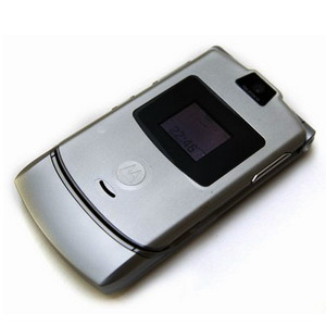 Motorola RAZR V3i, Quadband Music Phone - Refurbished