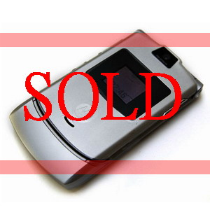 Motorola RAZR V3i, Quadband Business Phone - Refurbished