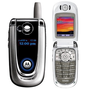Motorola V600, Quadband Camera Phone - Refurbished