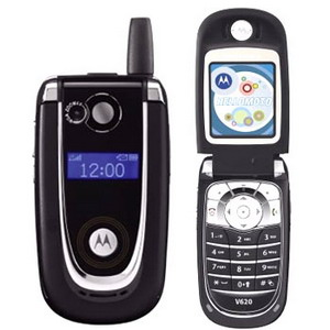 Motorola V620, Quadband Camera Phone - Refurbished