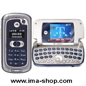 Motorola A630 Classic QWERTY Keyboard Flip Phone - Brand New