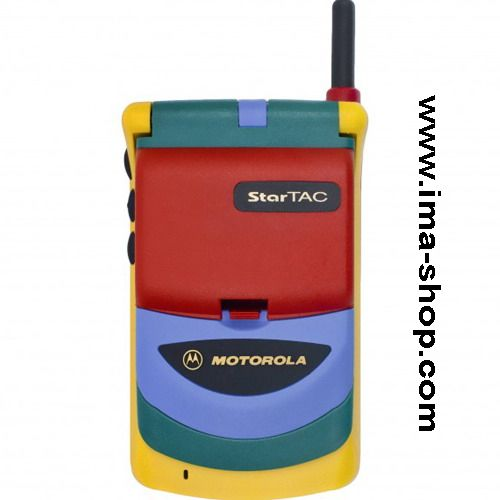 Motorola StarTAC Rainbow (StarTAC 70) GSM Mobile Cell Phone, brand new, original & boxed