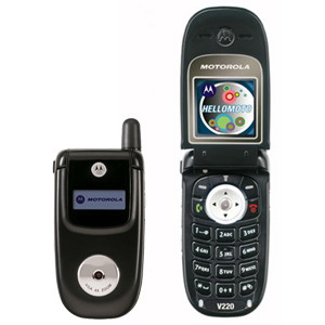 Motorola V220, Triband Mobile Phone - Refurbished