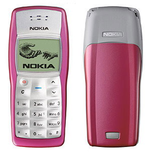 Nokia 1100 / 1108 dualband mobile phone - Brand New & Original (2 color options)