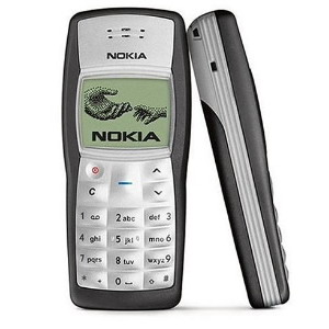 Nokia 1100, dualband mobile phone - Refurbished
