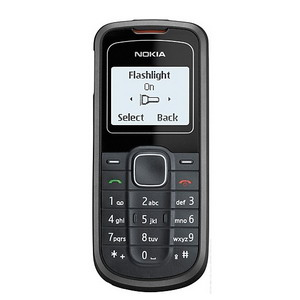 Nokia 1202, a small & easy to use phone - Refurbished