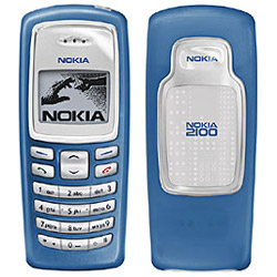 Nokia 2100, dualband phone, Xpress-On Cover - Refurbished
