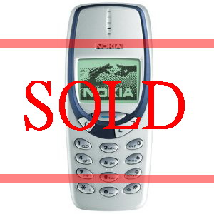 Nokia 3330 mobile phone. Genuine, original & brand new