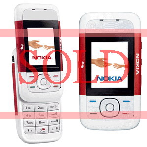 Nokia 5200 Music Phones (2 colors) - Refurbished