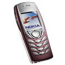 Nokia 6100 Classic Business Phone, genuine, brand new & original - Burgundy Color
