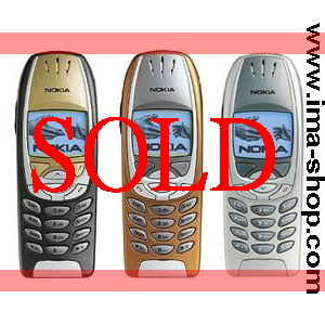 Nokia 6310i, Triband Mobile Phones (3 color options) - Refurbished (PHONE ONLY, no battery & no charger)