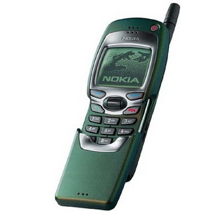 Nokia 7110 Classic Slider, First WAP Phone - Refurbished (PHONE ONLY, no battery & no wall-charger)