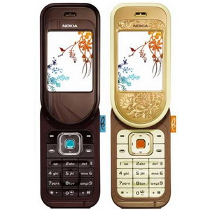 Nokia 7370 swivel phone L'Amour Collection (2 colors) - Refurbished
