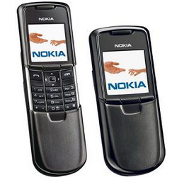 Black Nokia 8800 Classic, a phone made of steel - Refurbished