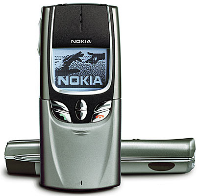 Nokia 8850, Classic Dualband Mobile Phone (3 color options) - Refurbished