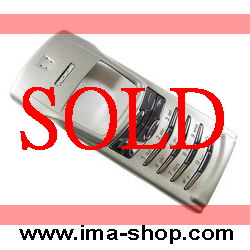 Nokia 8910 / 8910i Natural Titanium Slide Cover + Front Housing + Russian keypad