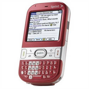 Palm Centro QWERTY Smartphone (4 color options)- Refurbished