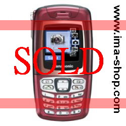Panasonic X300, Triband, Video Camera Phone - Refurbished