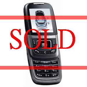 Samsung D600E, Triband Camera Slider Phone - Refurbished