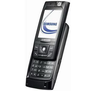 Samsung D820, Quadband Camera Slider Phone - Refurbished