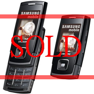 Samsung SGH E900, Triband Camera Slider Phone - Refurbished