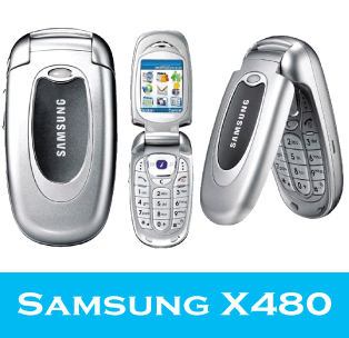 Samsung X480 Triband Classic Mobile Phone - Brand New & Boxed