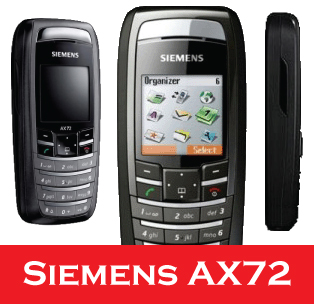 Siemens AX72, Triband mobile phone - Brand New & Boxed