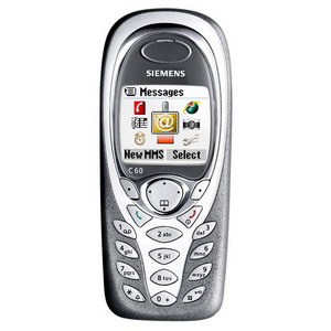 Siemens C60 triband mobile phone - Refurbished