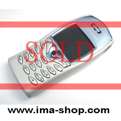 Sony Ericsson T68i Classic Mobile Phone - Arctic Blue Color. Original, brand new & boxed
