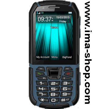 Telstra Tough 3 (ZTE T55) Ruggedised Phone. IP67 Waterproof, Shock and Dust Resistant. Brand New & Boxed