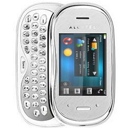 White Alcatel OT-880 One Touch XTRA QWERTY phone - New & Boxed