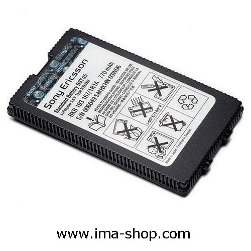 Sony Ericsson BST-25 770mAh Battery for T610 T606 T608 T616 T618 T628 T630 - Retail Pack